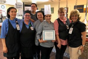 Twin Cities Community Hospital food services staff photo